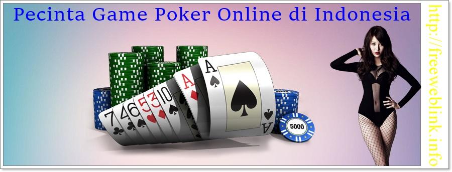 Pecinta Game Poker Online di Indonesia